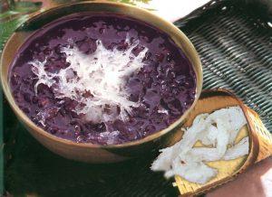 Bird's nest-sweet glutinous rice